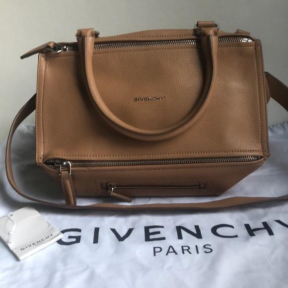 34ce14ccc643 Givenchy Handbags - Givenchy Pandora Medium Beige Sugar Bag